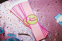 Princess theme Pink wristbands